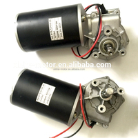 D63 dia.63mm 12v 24v dc worm gear motor with encoder for elevator door motor
