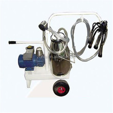 Vacuum pump Electric motor-driven mobile cow milking machine price