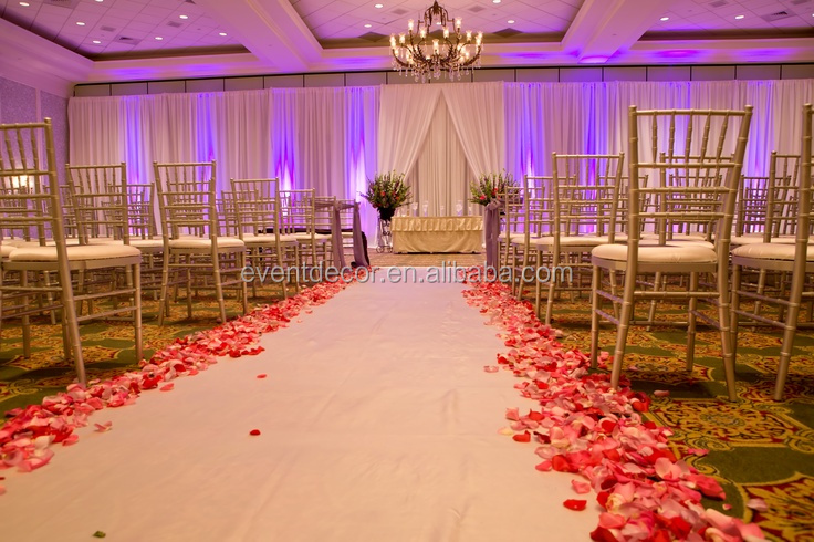 Weddin pipe and drape wedding stage for trade party and wedding backdrop decoration