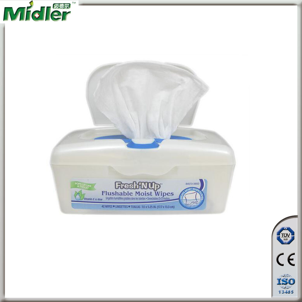 organic baby wipe plastic cases nowoven baby wet tissue