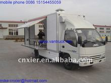 luxury container house hydraulic truck cargo