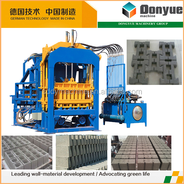 china supplier commercial construction equipment maxi concrete bricket machine prices south africa