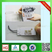 China e-ink price tag paper price tag jewellery tags