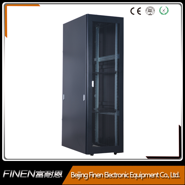 Nine folded frame 42u data center network server cabinet rack cabinet