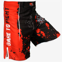 2014 New Design Sublimation MMA Shorts