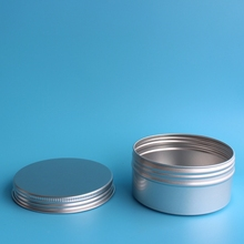 Latest design Wholesale empty tin cans aluminium tin cans metal round aluminium can