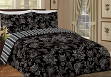 HOT! High quality polyester/cotton 3 pcs bedding comforter set , Pigment print
