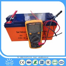 Controlled Quality Assured silicone gel battery