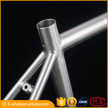 best price titanium material the no folding bike frame in stock
