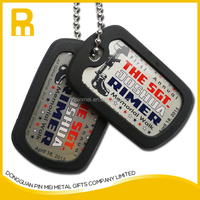 2015 promotional metal dog tags necklace / metal tag necklace with cheap price