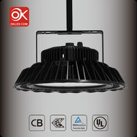 2016 Newest Super High lumen 5 years warranty led lens 50 degrees led high bay light from okled--Fiona