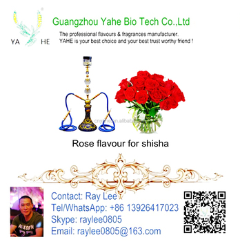 Hookah flavor high concentration liquid of Rose flavour for Shisha and vape juice with wholesale price