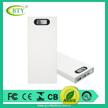 BTY 12000mAh Power Bank Portable Dual Port External Battery Pack Backup Charger for iPad Air mini,iPhone 6 Plus 6s,Samsung Galax
