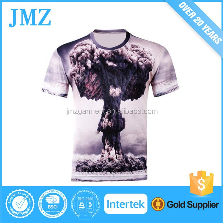 Wholesale t-shirt with full color print size s m l xl xxl for men