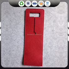wholesale fashion single bottle felt wine bag