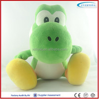 big eyes green dinosaur plush toys