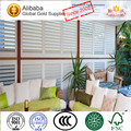 2017 Popular Superior Quality Best Price Odm Basswood Plantation Shutter