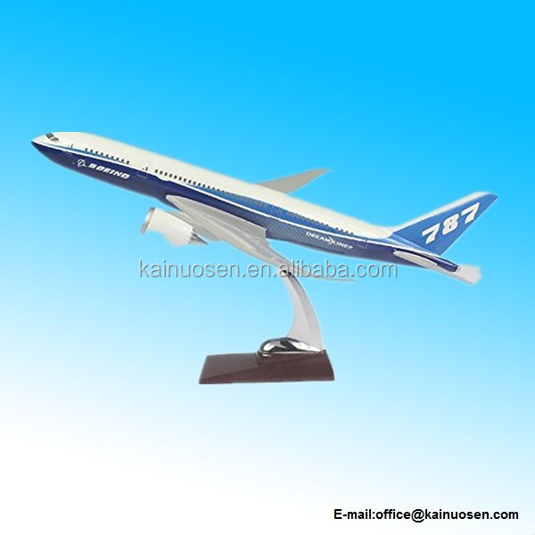 32cm Boeing B787 Original ABS Resin Model Plane Model Plane Toy