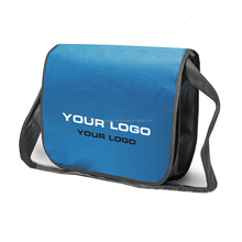 Promotional Blank Non Woven Hemp Unique Wholesale Messenger Bag
