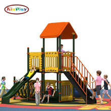 KINPLAY brand best sale new design kids toys slide outdoor plastic china playground equipement
