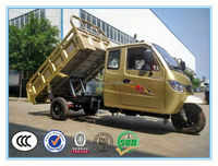 China Supplier 1000cc Closed Carriage Cargo Tricycle With RVC In Africa