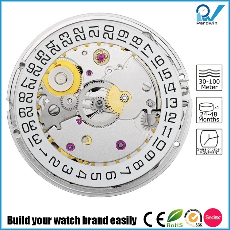 mechanical automatic sellita movement build your own watch brand