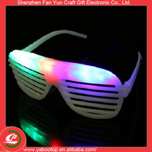 Creative Glow in the dark glasses plastic glowing eye party led glasses