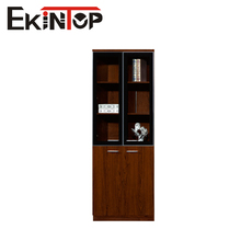 China factory sale wooden 2 drawers fixed office filing cabinet