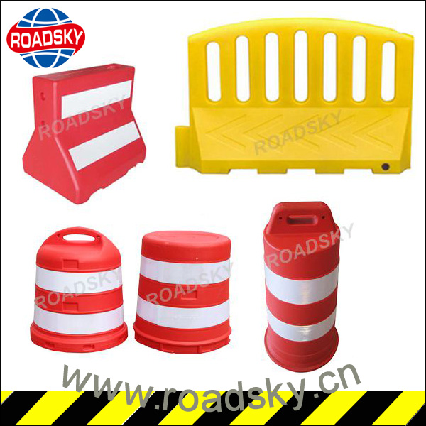 Water Filled Plastic Security Road Barrier For Sale