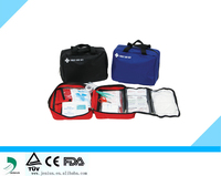 China Car Sports Vehicle Emergency First Aid Kit CE FDA ISO13485 approved