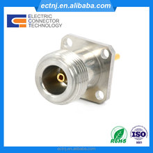 Panel Mount N Type Female Jack Straight RF Coaxial Connector