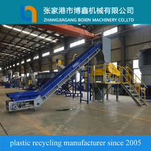 Plastic film crushing washing drying machine made in China