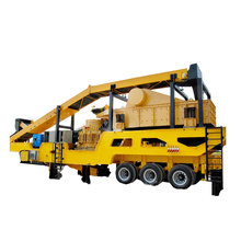 Mobile Tire Type Impact Crusher Plant