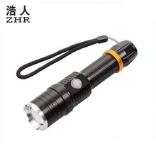 Mini Emergency Hand crank Flashlight Rechargeable LED Light Lamp Charging Powerful Torch For Camping Outdoor