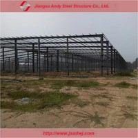 Prefab engineered metal building frame