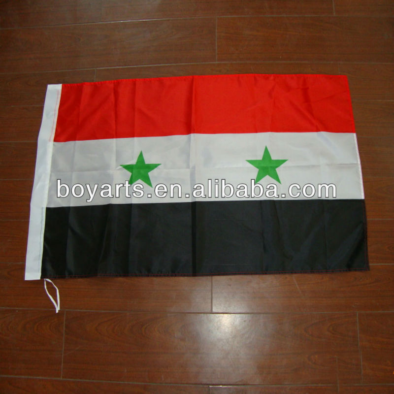 Custom decorative national flag