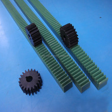 high pricision Nylon66 plastic rack and pinion gears