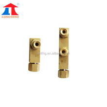 Copper II Type Distributor,Brass Fittings for Pipeline System used on Portable CNC Cutting Machine