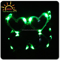 Party favor LED light up sunglasses led flashing sunglasses with joy and fun