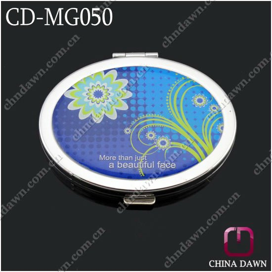 high quality Oval Shaped Pocket Mirror for Promotion CD-MG050