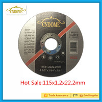 "Hot sale 4.5"" cutting disc for inox"