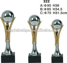 metal sports trophy cup