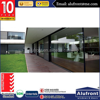 High quality good price glass sliding door UPVC door