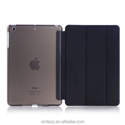 For iPad Mini case fashion item kickstand holder matte PC book flip pad case cover