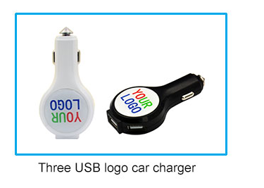 special offer new car charger 2-port usb with voltmeter