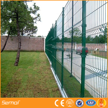 china Anping steel reinforcement pvc palisade fence garden fence