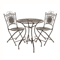 Continental Outdoor Patio Terrace Garden Table And Chairs Combination Dining Table