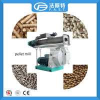 2016 Famous overseas poultry feed pellet making granulator machine