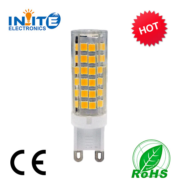 Alibaba express lighting economic price G9 led with 5W 75pcs SMD2835 replace G9 halogen g9 lamp