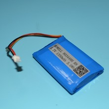 3.7 v 1350mah li-ion rechargeable battery 803448 for GPS tracking